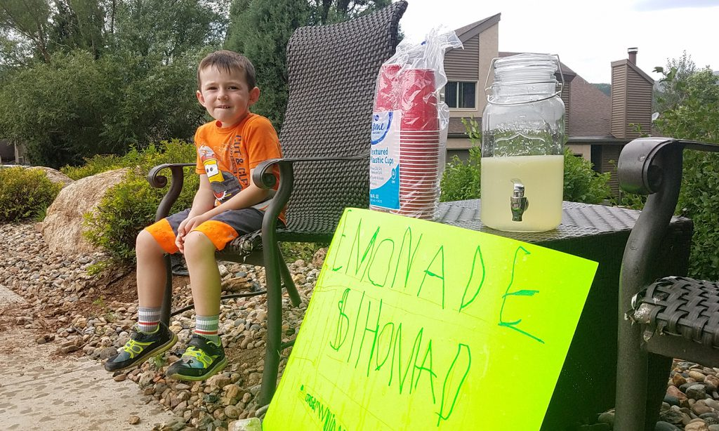 Lemonade Stand Childhood Rite of Passage