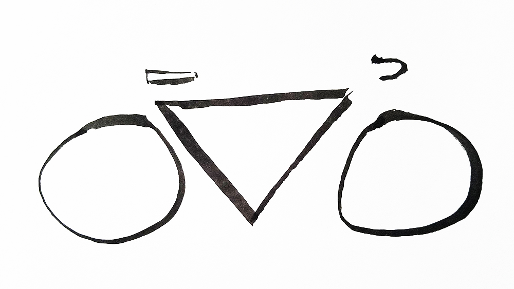 Bicycle Line Drawing
