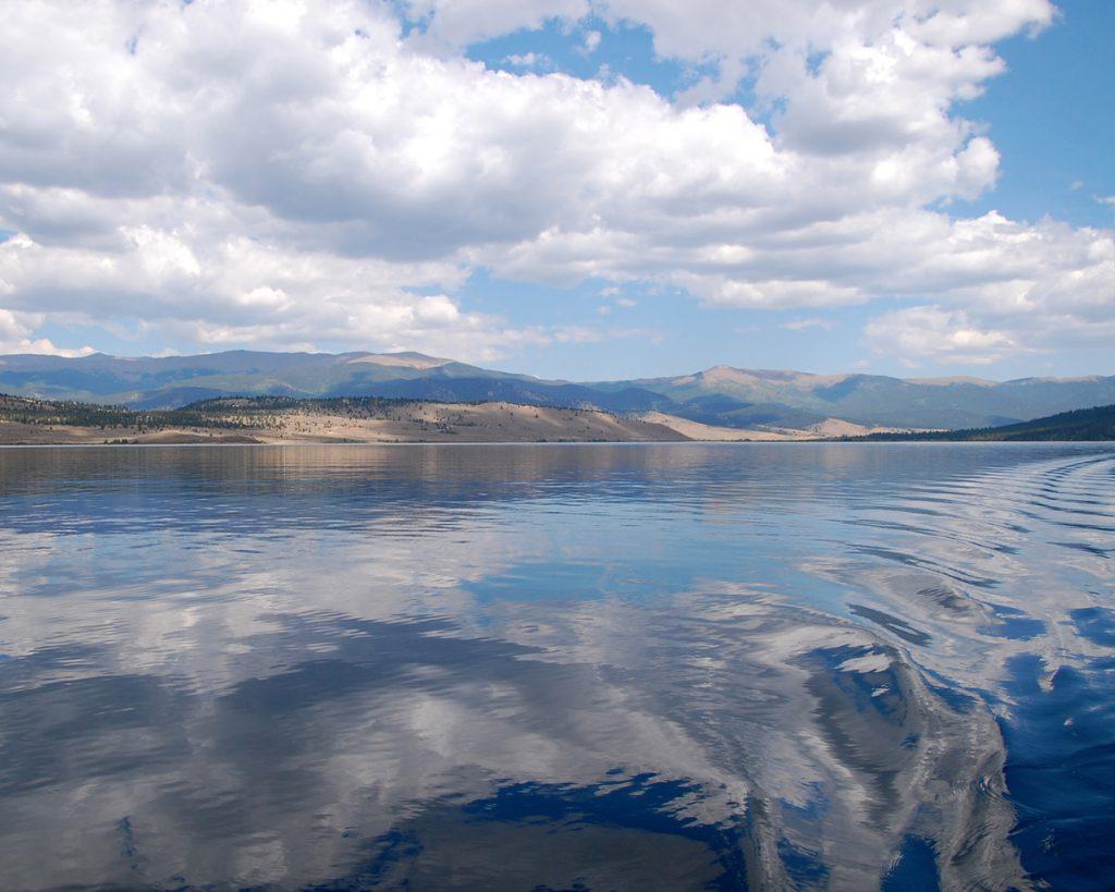 Twin Lakes boat trip by Rhonda Van Pelt | Manitou Springs, CO