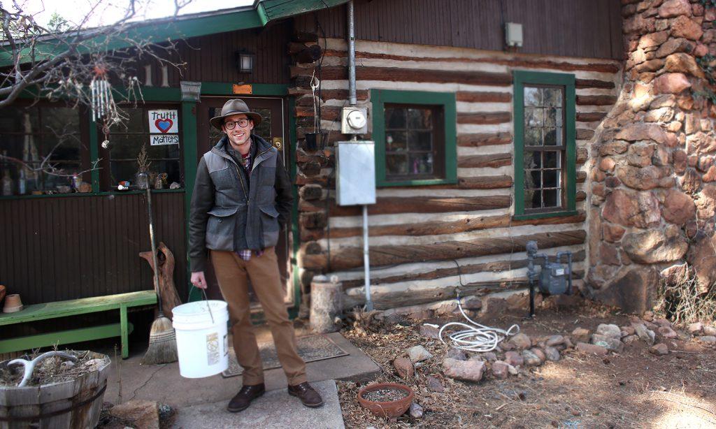Steve Oliveri at Flying Pig Farm | Manitou Springs, CO