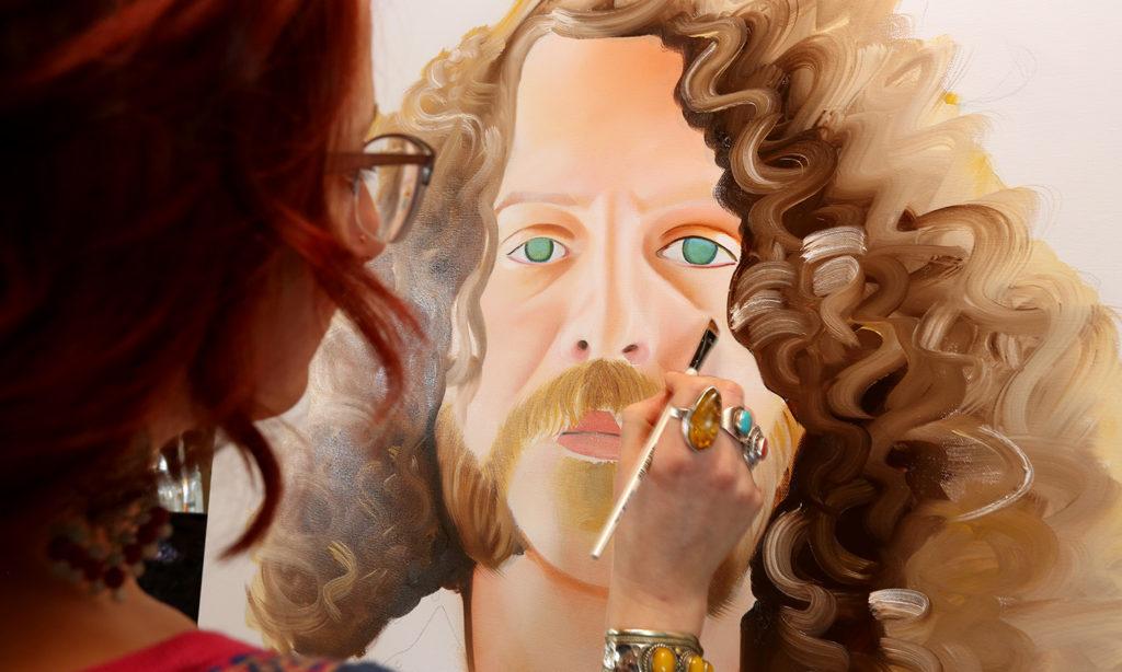 Molly McClure, Portrait Painter | Humanitou Creativity Converseation