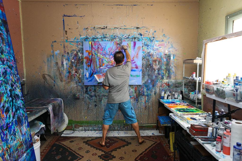 David Gonzales, Artist | Humanitou