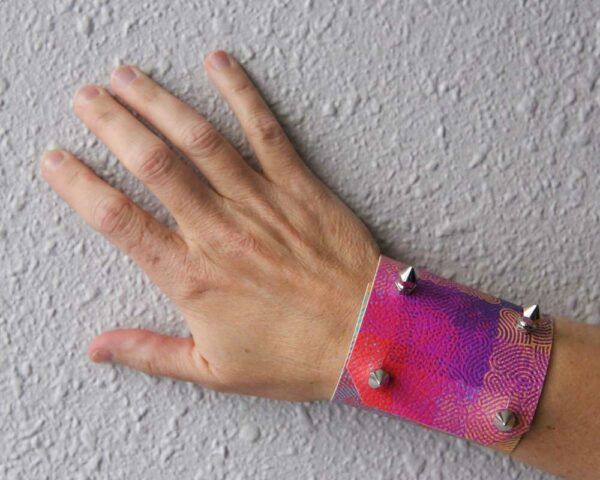 Vegan-Leather Cuff by Becca Williams | Humanitou