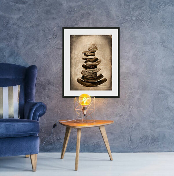 Sea Worn Pottery Cairn | Humanitou Art by Adam Williams