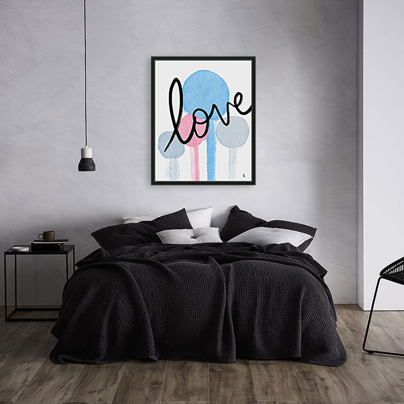 Love room scene | Humanitou Art by Adam Williams