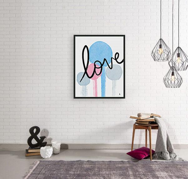 Love room scene | Humanitou Art by Adam Williams