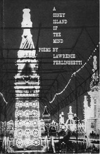 """Cover design of Lawrence Ferlinghetti's """"A Coney Island of the Mind"""""""