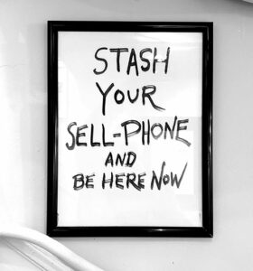 Stash Your Sell-Phone, by Lawrence Ferlinghetti | Humanitou