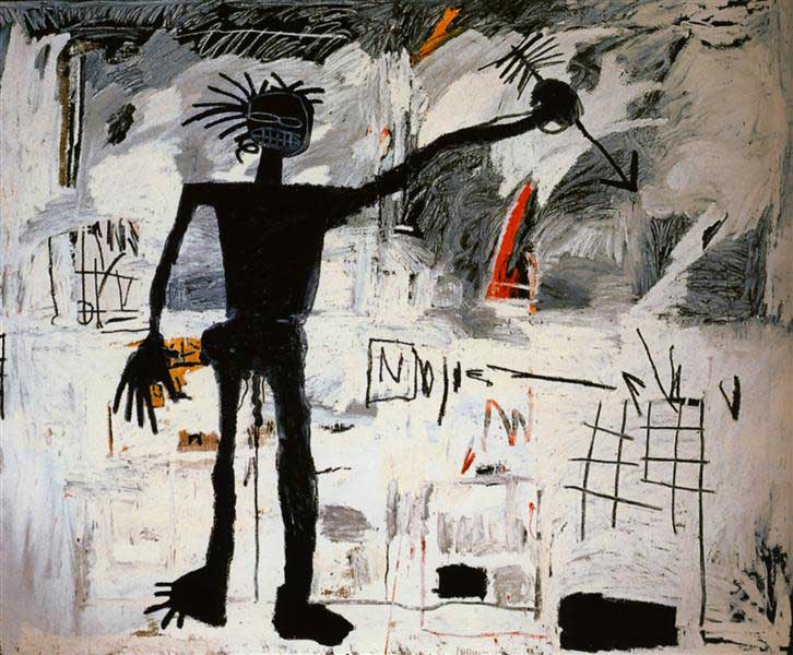 Basquiat, Self-Portrait, 1982   Humanitou