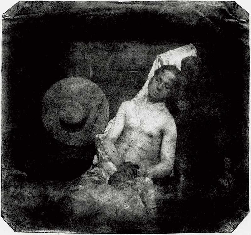 "Hippolyte Bayard, ""Drowned Man"" (1840)   Humanitou"